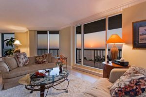 Meridian Club 701-small-001-Living Room at Sunset-666x445-72dpi